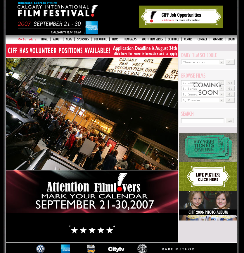 Calgary International Film Festival 2007